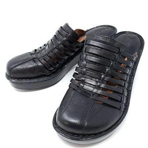 Born Closed Toe Gladiator Clog Sandals Sz 8